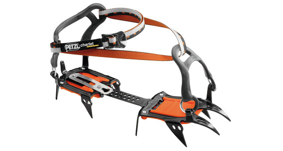 Petzl Irvis - Crampones - Flexlock gris/naranja